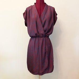 Maison Jules   Mulberry Wrap Dress